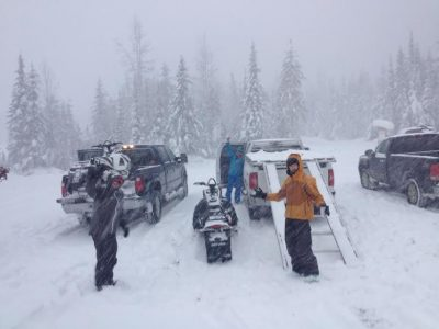 Conditions Update 2 from Trigger Point Snow Services