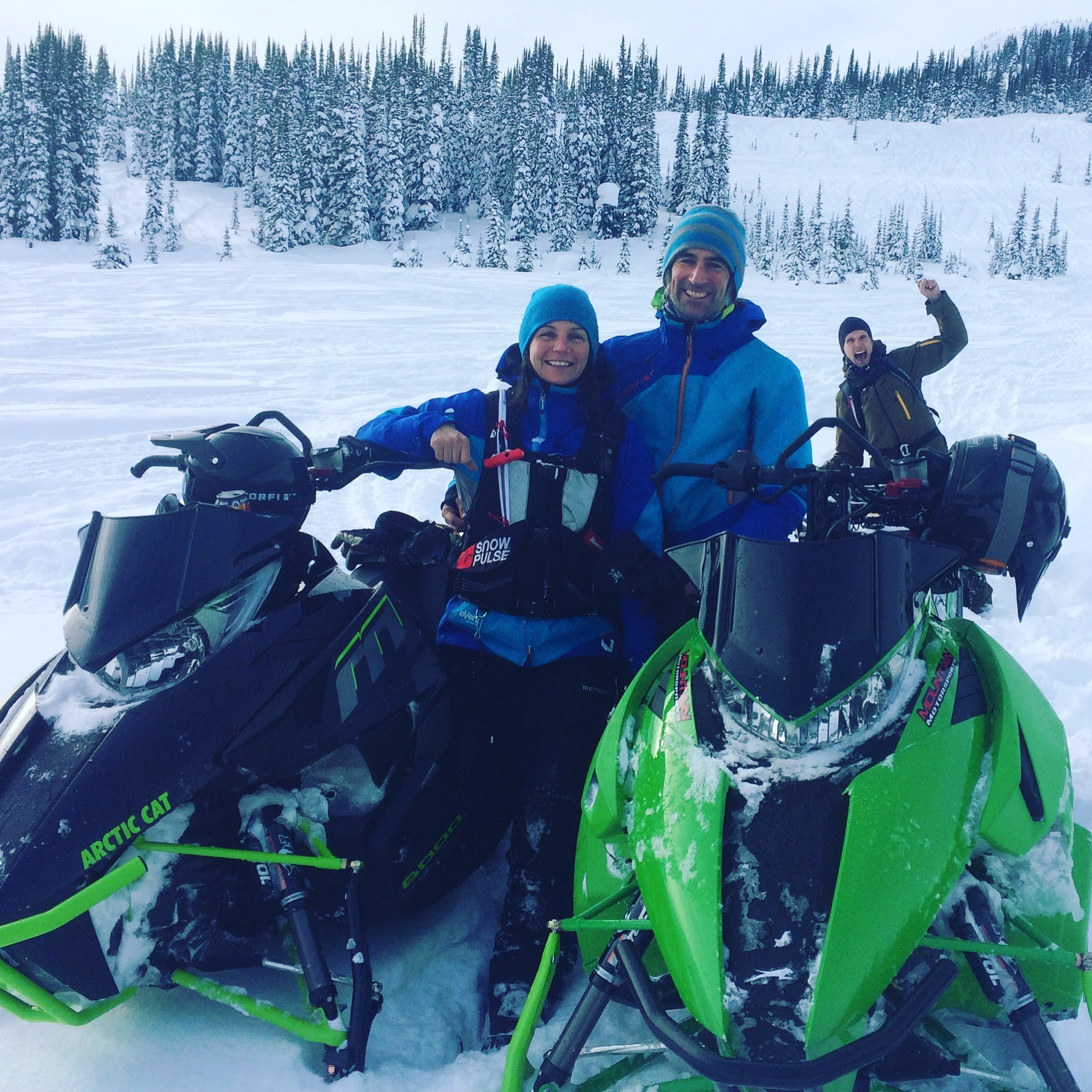 amber granter, chris granter, CAA Professional Member, Trigger Point Snow Services,