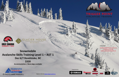 AST 1 Avalanche Skills Training Trigger Point Snow Services