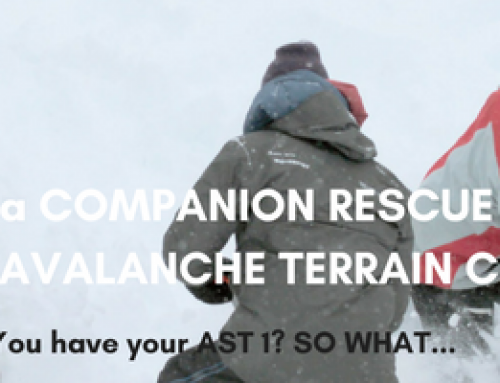 What is a Companion Rescue or Managing Avalanche Terrain Course?